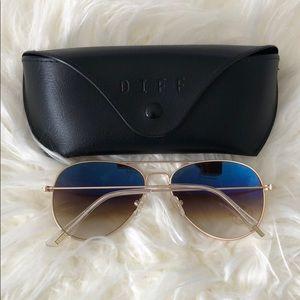 Diff Eyewear Accessories - NWT DIFF Cruz Aviator Sunglasses